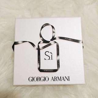 BNIB Giorgio Armani Si Fragrance & Mascara