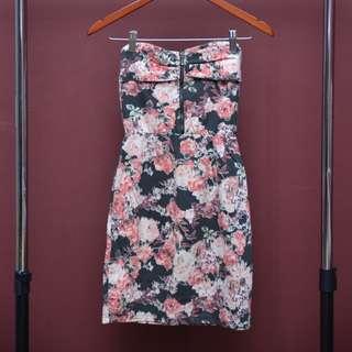 BERSKHA - Floral Tube Dress