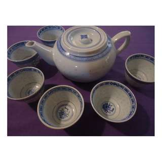 Tea Set (6 cups)