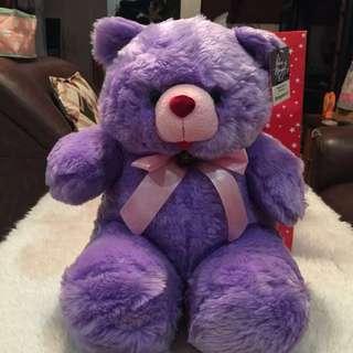 Stringbean Jr. purple bear