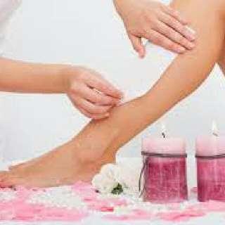 House call waxing service,Facial at home, wax at home,pedicure services, manicure service