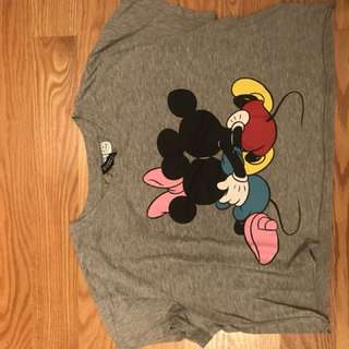 cute disney mickey mouse tee