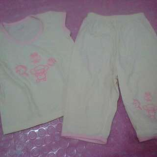 Little wishes pajama set 9-12months