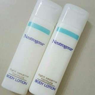 🆕Brand New Neutrogena Body Lotion / Moisturiser