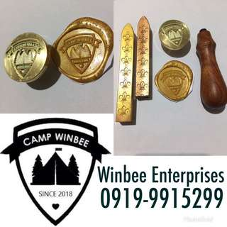 Wax stamp customize