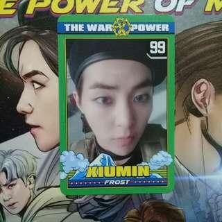 (WTT) Exo Xiumin Power Photocard