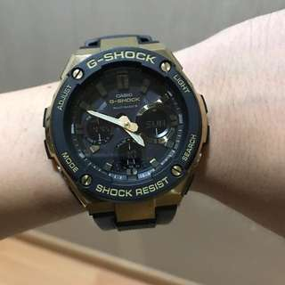 G-shock Casio GST-W100G (Gshock) watch jam tangan Authentic Japan