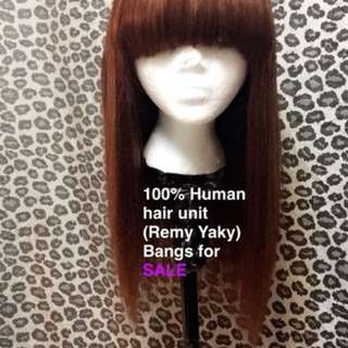 Human hair wig made by me
