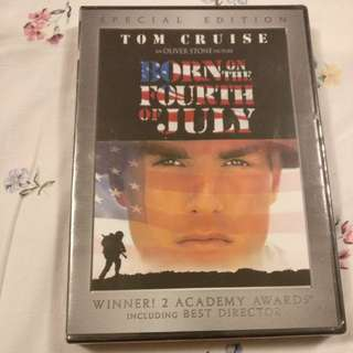 Code 1 DVD - Born on the Fourth of July (Tom Cruise)