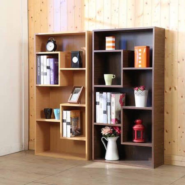 靈活多變置物收納櫃(2色)/書櫃