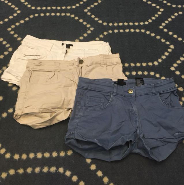 3 H&M shorts for 120php