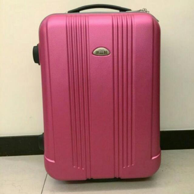 粉紫色行李箱#手滑買太多