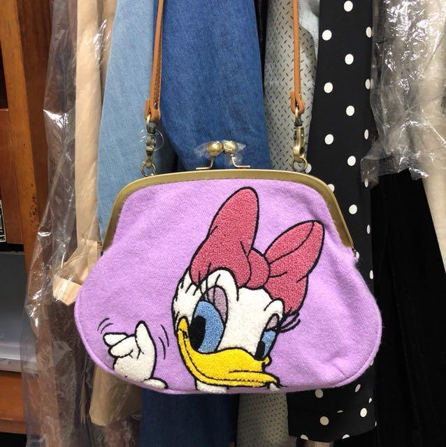 正版迪士尼側背包。黛西款