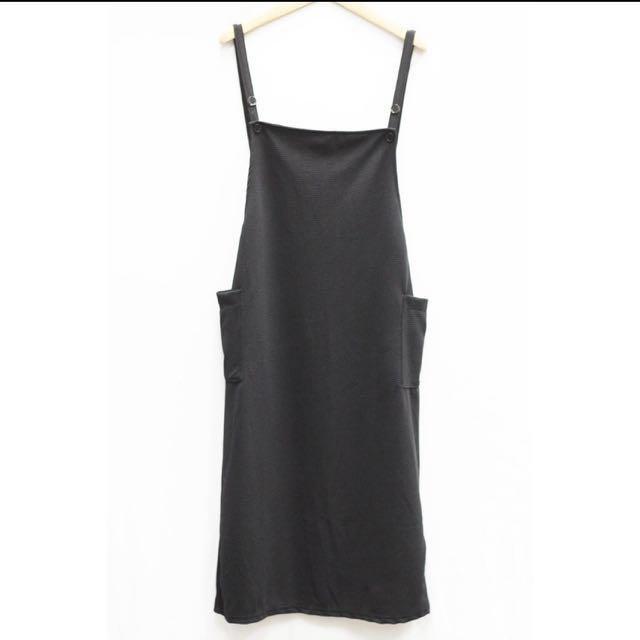 吊帶裙 黑色#手滑買太多