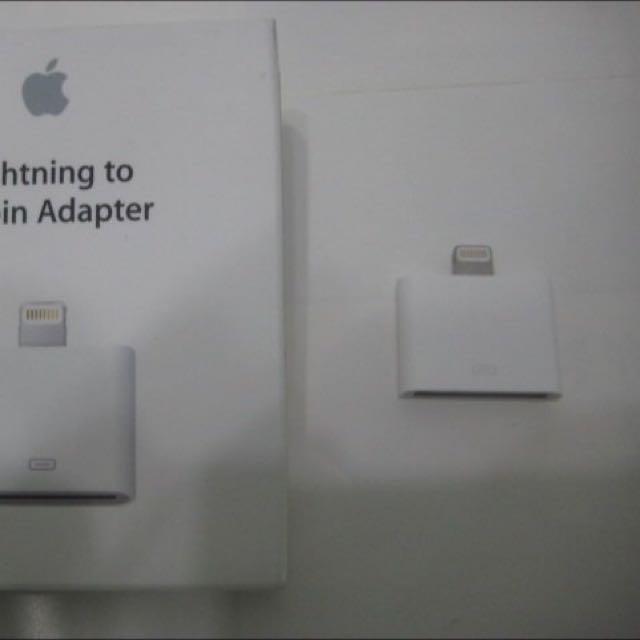 全新 Apple 原廠 30 針對lightning 轉接頭