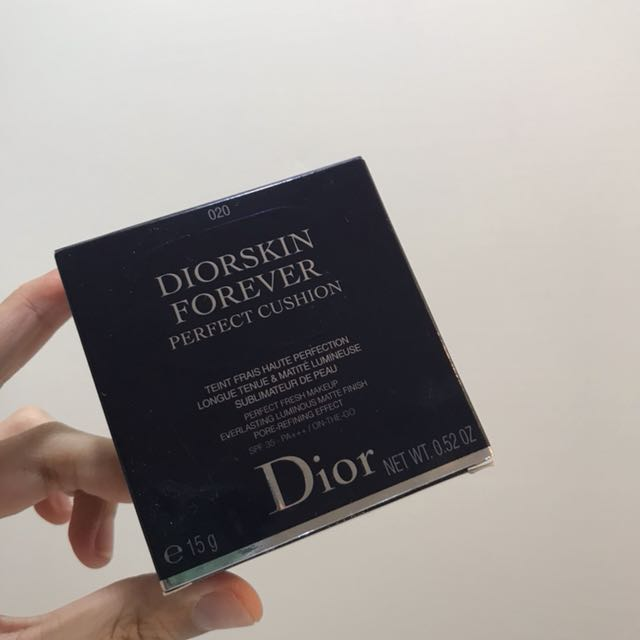 🍎全新/ Dior 超完美持久氣墊粉餅 020