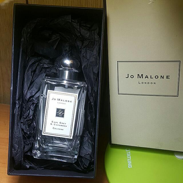 正品 Jo Malone 伯爵茶與小黃瓜 100ml 香水