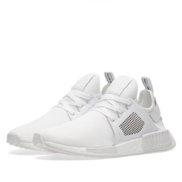 9d7ad732236aa Adidas NMD XR1 Triple White UK 6.5 to 12