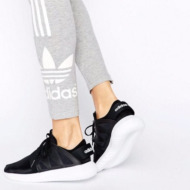 Adidas originals black tubular 鞋