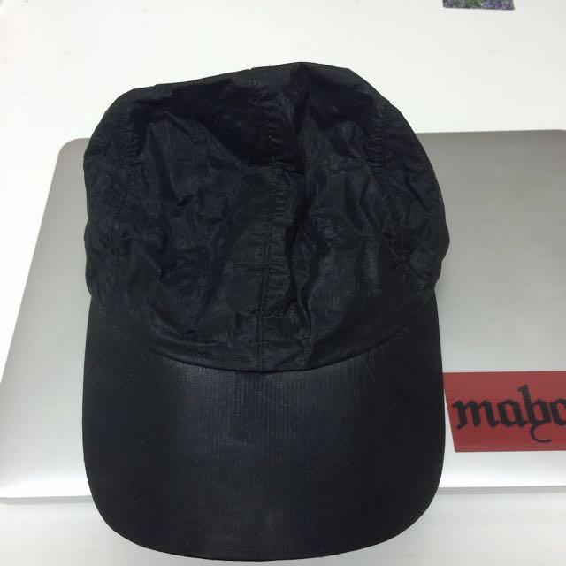 Adidas x Stella Mc Cartney 黑色異材質棒球帽