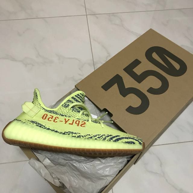 57309545eeebc adidas Yeezy Boost 350 V2 Semi Frozen Yellow