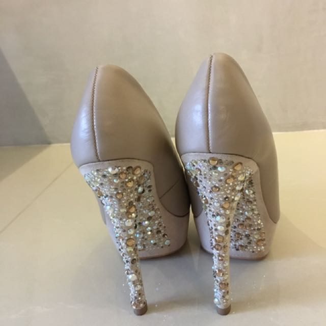 eed9f388779c ALDO Wedding Heels with glitter, Women's Fashion, Shoes on Carousell