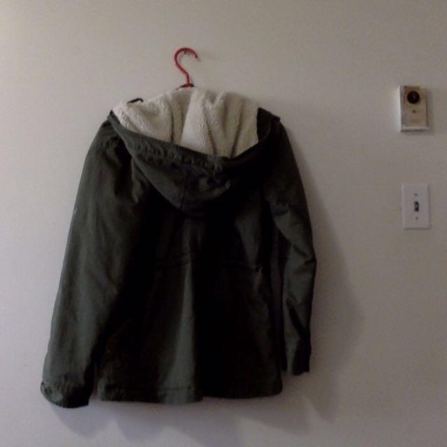 American Eagle Military Jacket