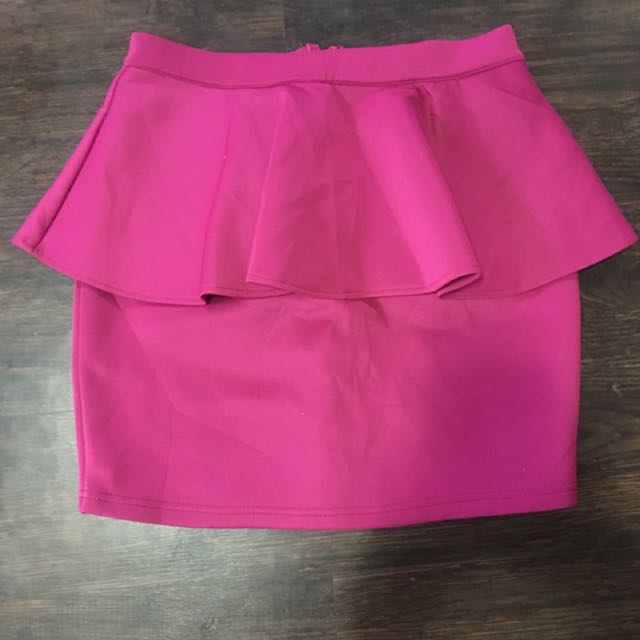 Apartment 8 peplum skirt