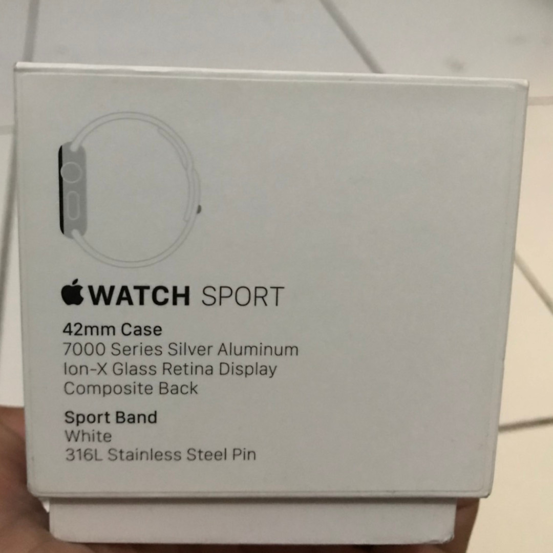 Apple Watch Series 1 42mm Original Store Garansi IBox Indonesia Sampai Desember 2017 Mens Fashion Watches On Carousell