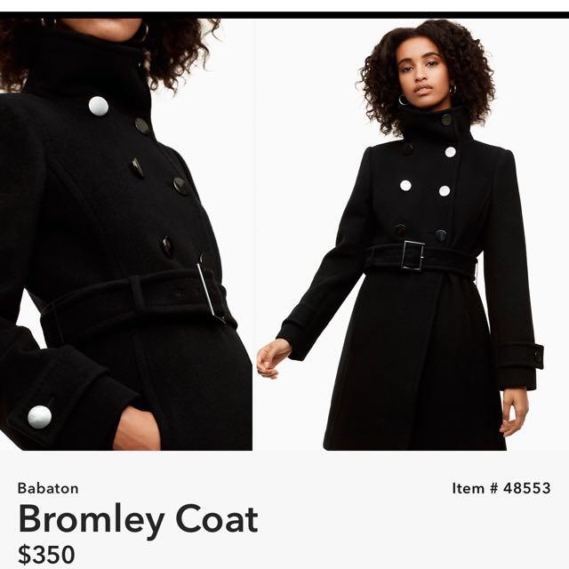 Aritzia Babaton Bromley Coat