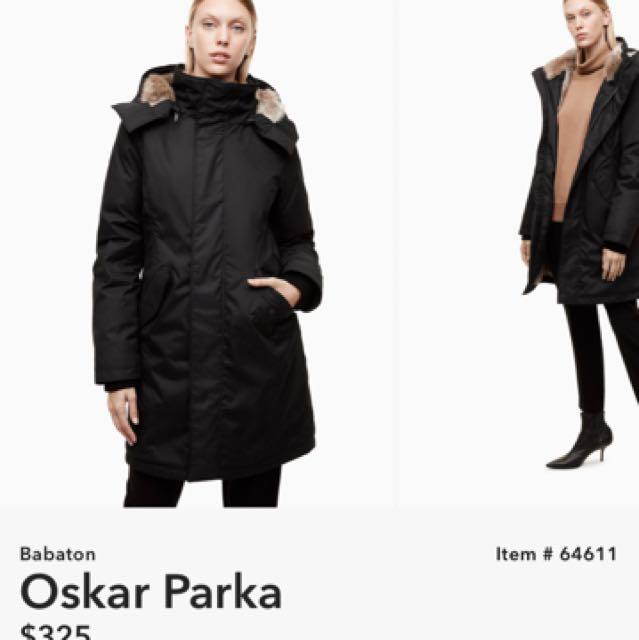 Aritzia Babaton Oskar coat