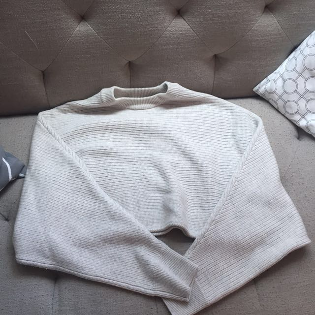 Aritzia cropped sweater - worn once