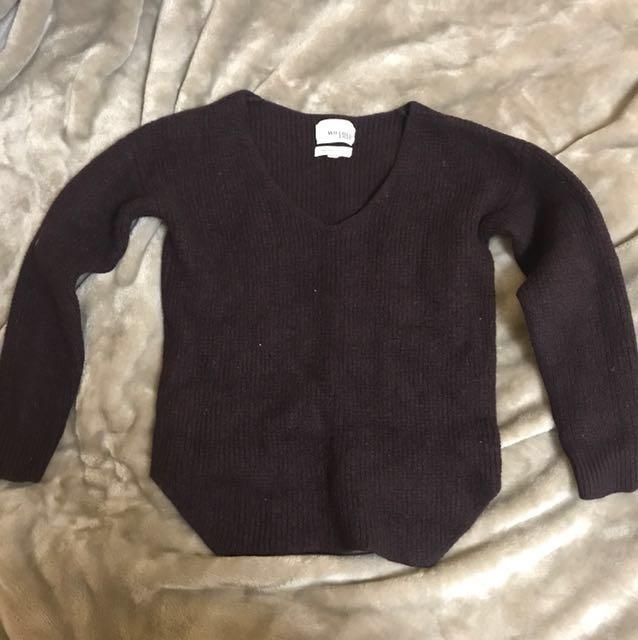 Aritzia Wilfred Free wool sweater