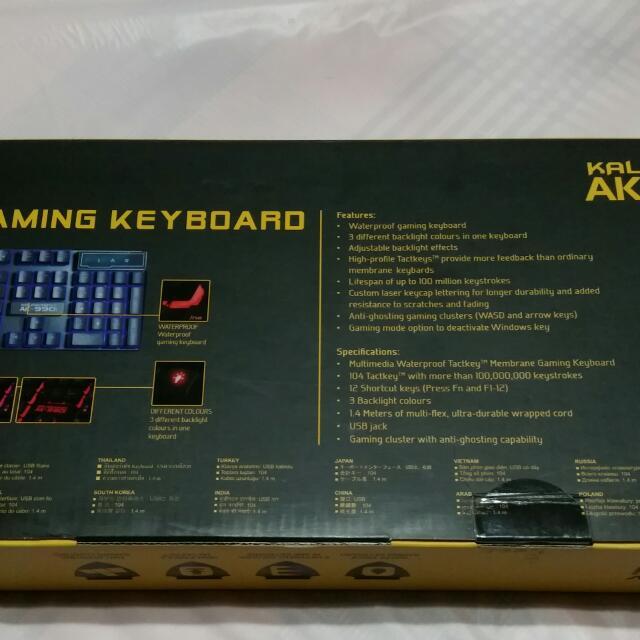 Armaggeddon Source · Armageddon Kalashnikov AK 990i Membrane Keyboard Toys & Games Video Gaming Gaming
