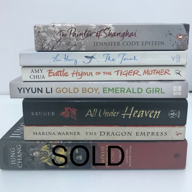 Asian lit, biographies and history