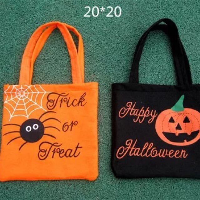 Assorted Halloween candy bag