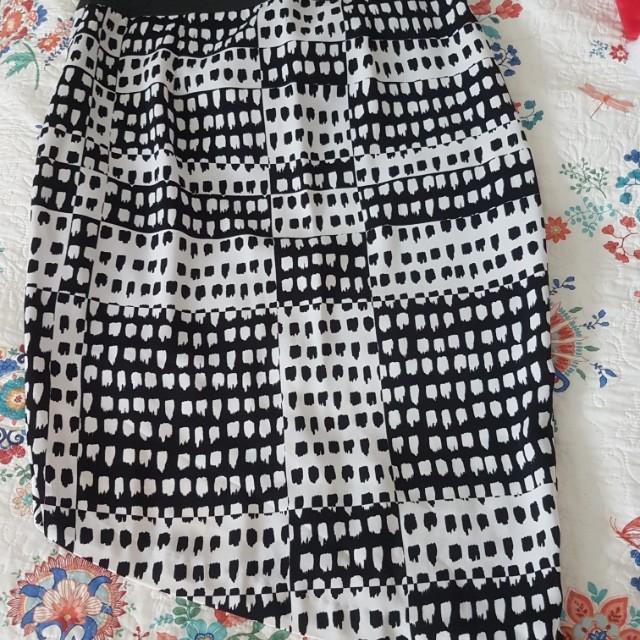 Asymmetrical Portmans Skirt