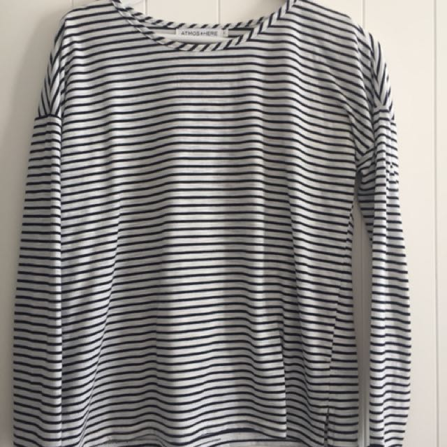 Atmos&here striped top