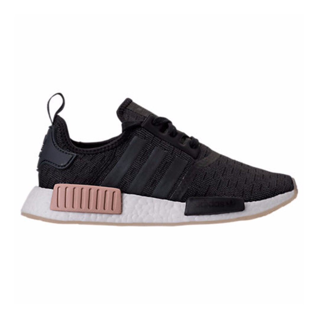 Authentic Adidas Originals Womens NMD R1 Black Carbon   Ash Pearl ... 5b5cbf03e