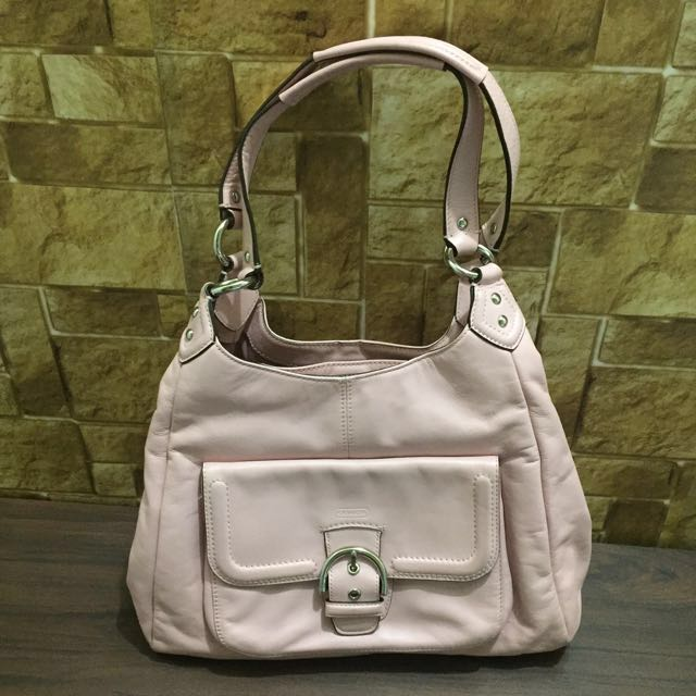 Authentic Coach bag (pink)