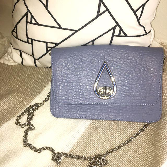AUTHENTIC KENZO BLUE DROP CROSS BODY BAG