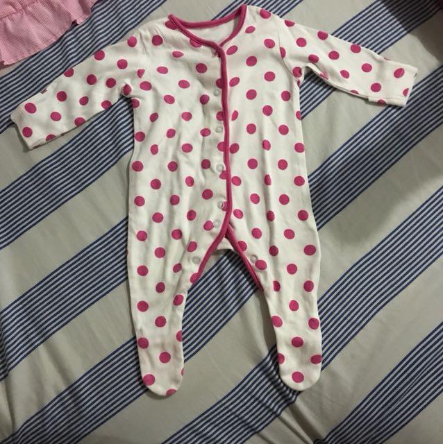 Baby girl Romper/overall