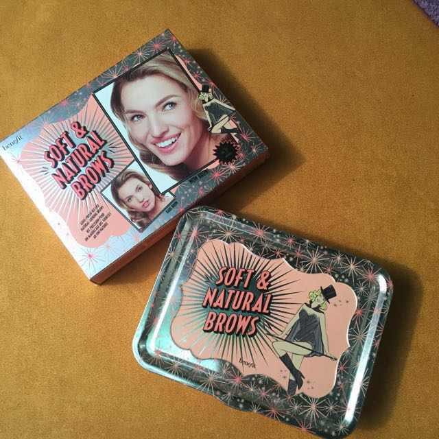 Benefit soft and natural brows set