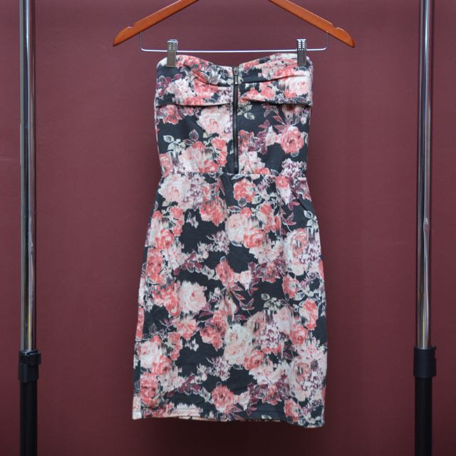 BERSKHA - Floral Tube Dress