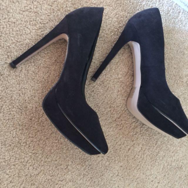 Black ASOS high heels