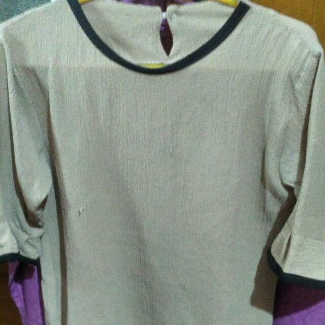 blouse krem