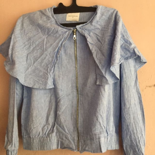 BLUE JACKET OUTER DAILYDARLING