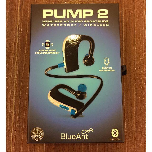 BlueAnt PUMP2軍規防水運動藍芽耳機