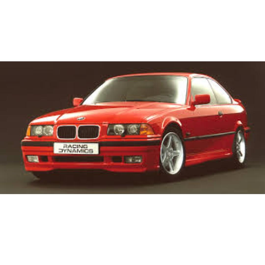 Bmw X8 Series: BMW 3 Series E36 Racing Dynamic Bodykit, Auto Accessories