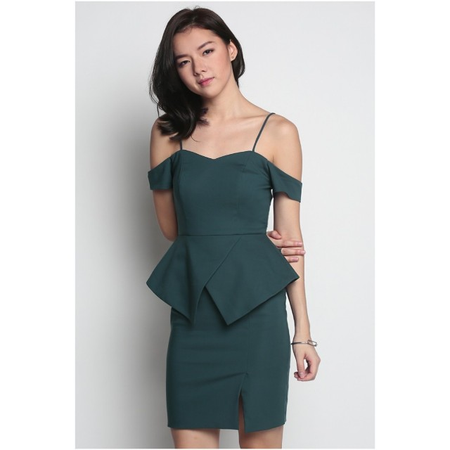 3c8563cec4ae SOLD] BNWT Love Bonito Hevea Peplum Dress, Women's Fashion, Clothes ...